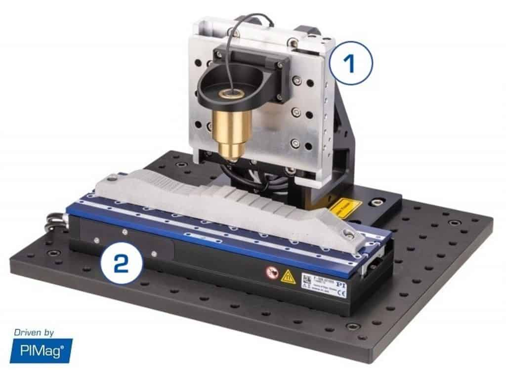 Industrial Optical Inspection Motion System